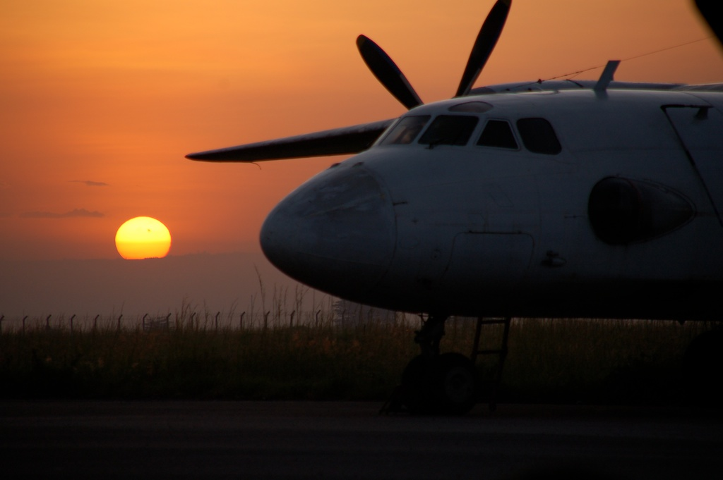 First flight back